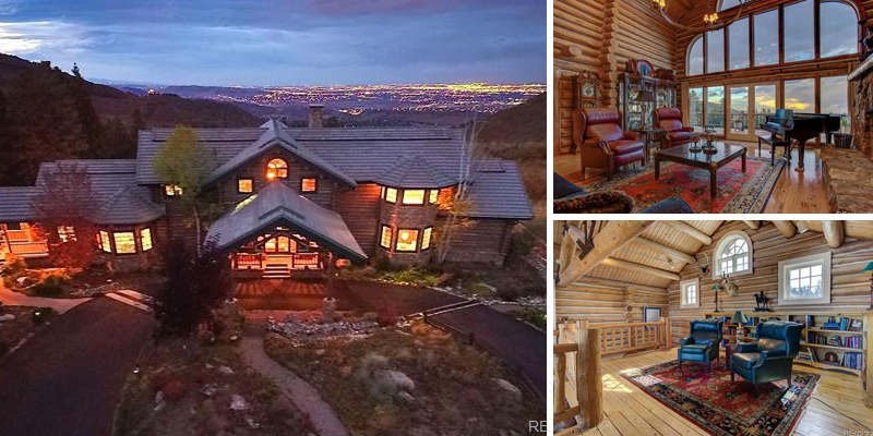Sold! Spectacular Custom Log Home With Extraordinary Views