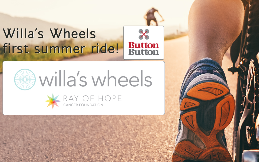 Willa's Wheels first summer ride!