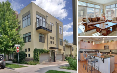 Under Contract! Modern Townhouse in Boulder