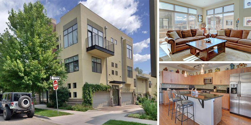 Sold! Modern Townhouse in Boulder