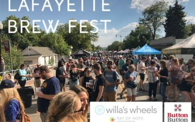We brewed awareness for Ray and Willa at Lafayette's Brew Fest!