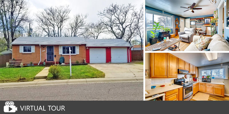 Price Reduced: Centrally Located Brick Ranch Home in Federal Heights!