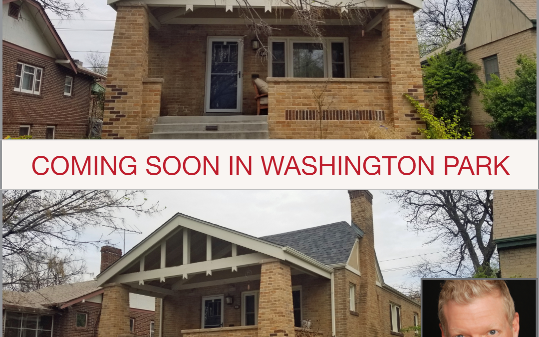 Coming Soon! Great opportunity just blocks from Wash Park!