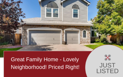 Just listed! Great Family Home – Lovely Neighborhood!