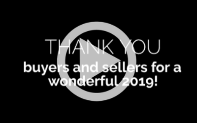 Thank You Buyers and Sellers!